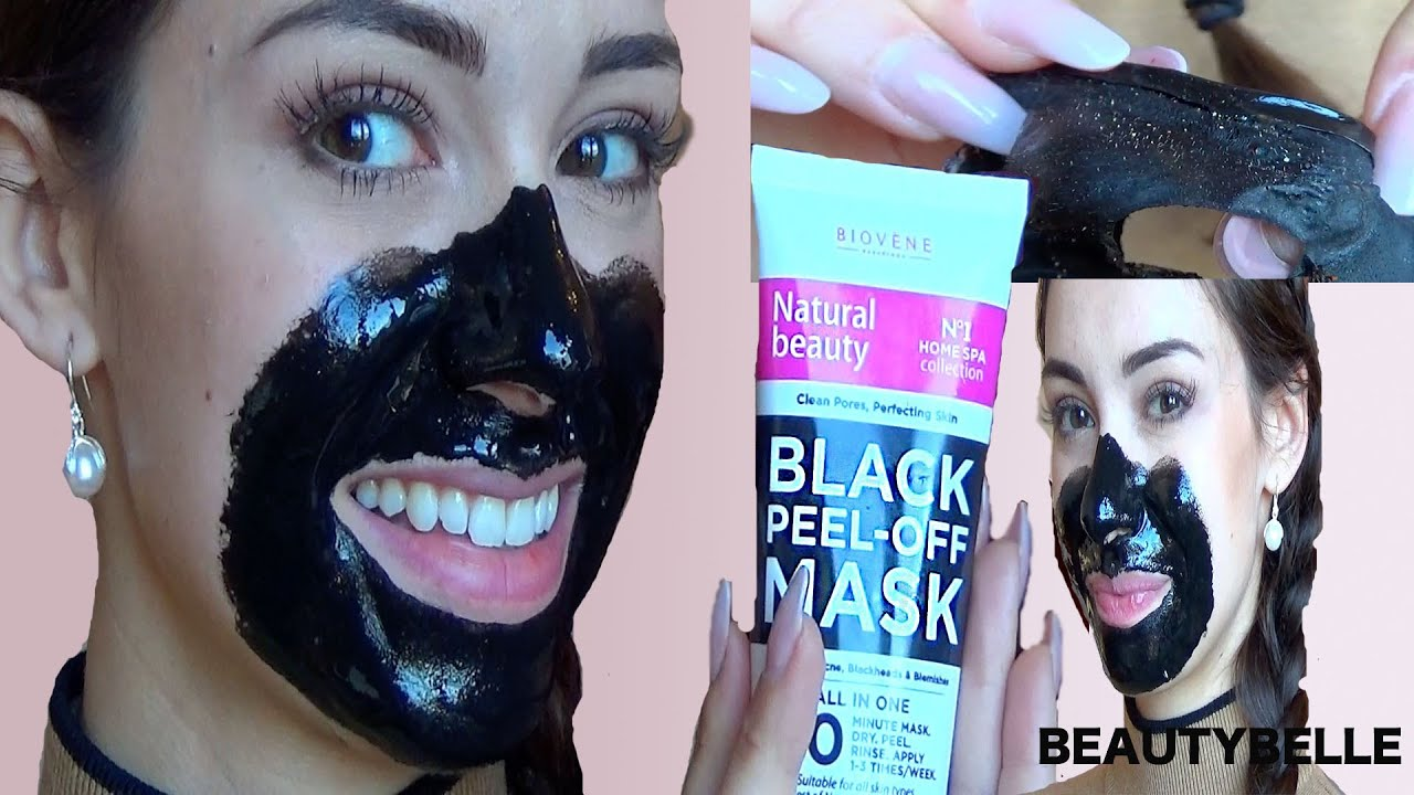 black peel off maske dm