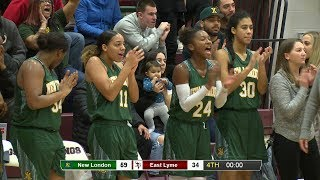Highlights: New London 59, East Lyme 34