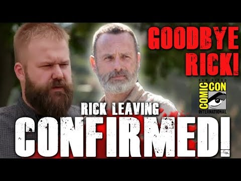 Goodbye Rick! Robert Kirkman Confirms Andrew Lincoln Is Leaving The Walking Dead!