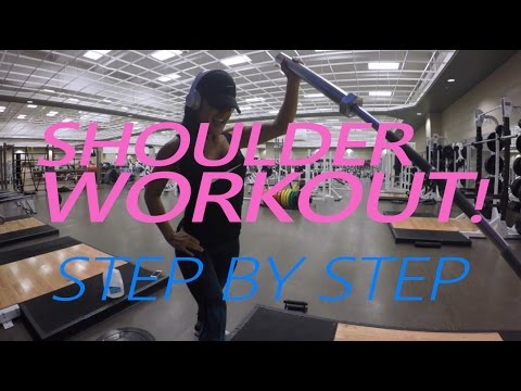 Jessica Arevalo - Shoulder Workout Walk Through