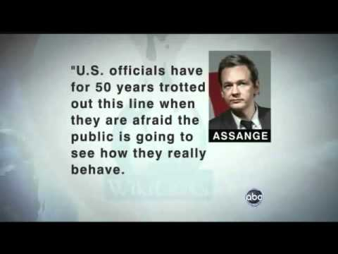 Wikileaks Julian Assange tells why wikileaks released US cables - ABC News.flv