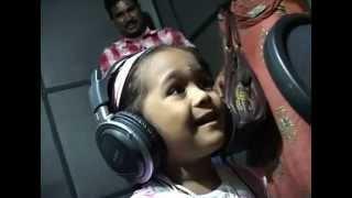 Baby Girl  Shivani telling a new Story