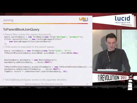Grouping and Joining in Lucene / Solr