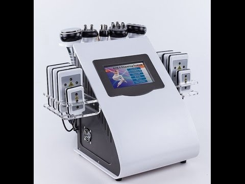 Cavitation RF Radio frequency Lipo laser Machine introduction