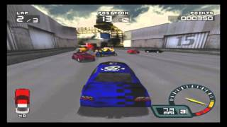 Classic Game Review: Demolition Racer (Psx)