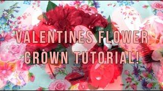 Valentines day Lolita Accessories: Flower Crown