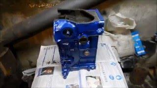 Капремонт двигателя 2103. Подготовка блока цилиндров. 4 часть.