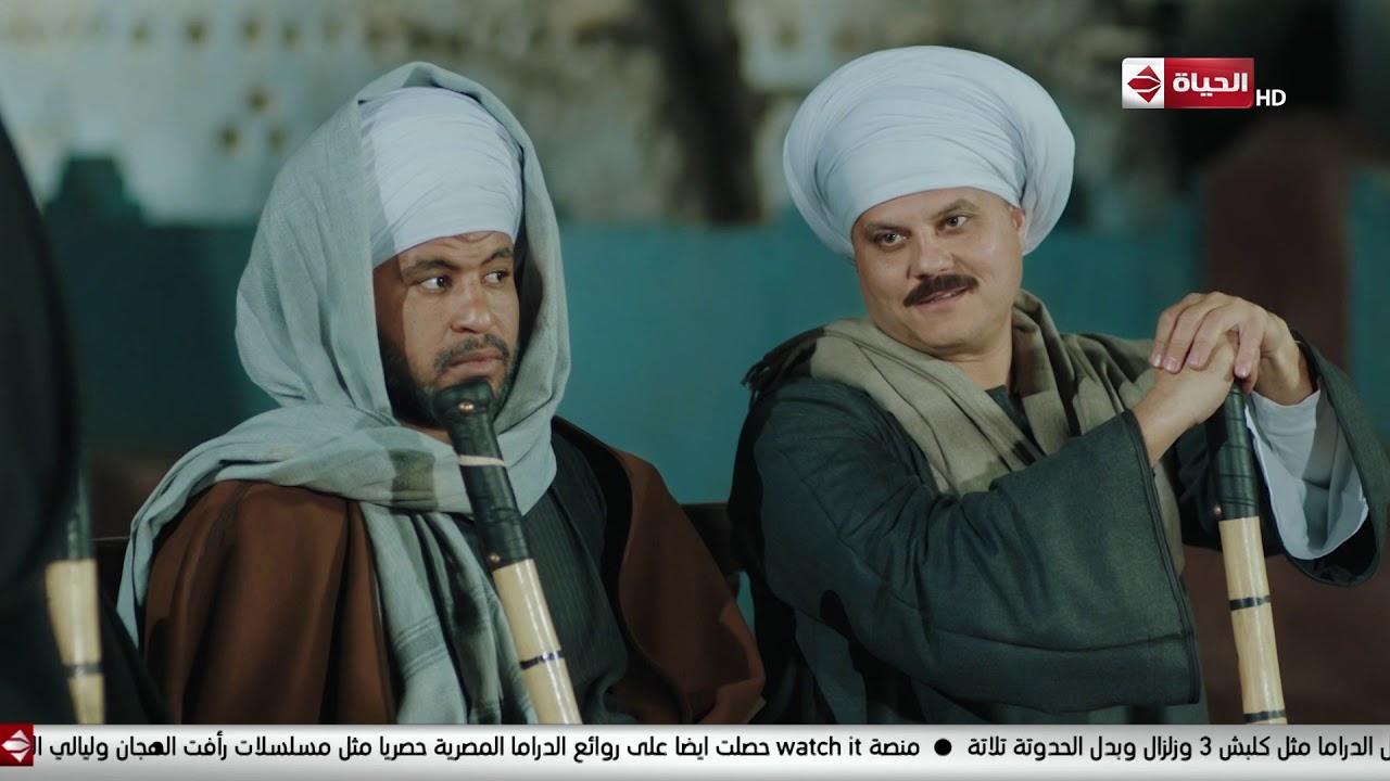 مسلسل بت القبايل - الشيخ فراج عامل مجلس علشان يختار العمدة ورحيل بتقترح على العمدة انه يكون عنانى