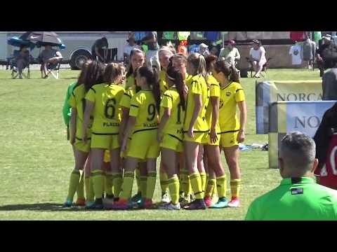 Placer United 03's vs Davis Legacy - State Cup (semi-finals) 2016-2017