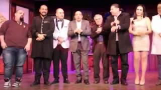 بالفيديو.. سامح حسين ضيف الليلة الأخيرة لمسرحية 'واحد تاني'