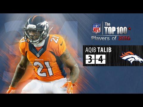 #34: Aqib Talib (CB, Broncos) | Top 100 NFL Players of 2016