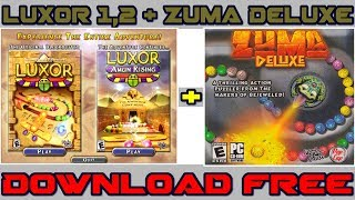 Download Luxor + Zuma Deluxe for pc free 2018