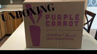 Purple Carrot Unboxing