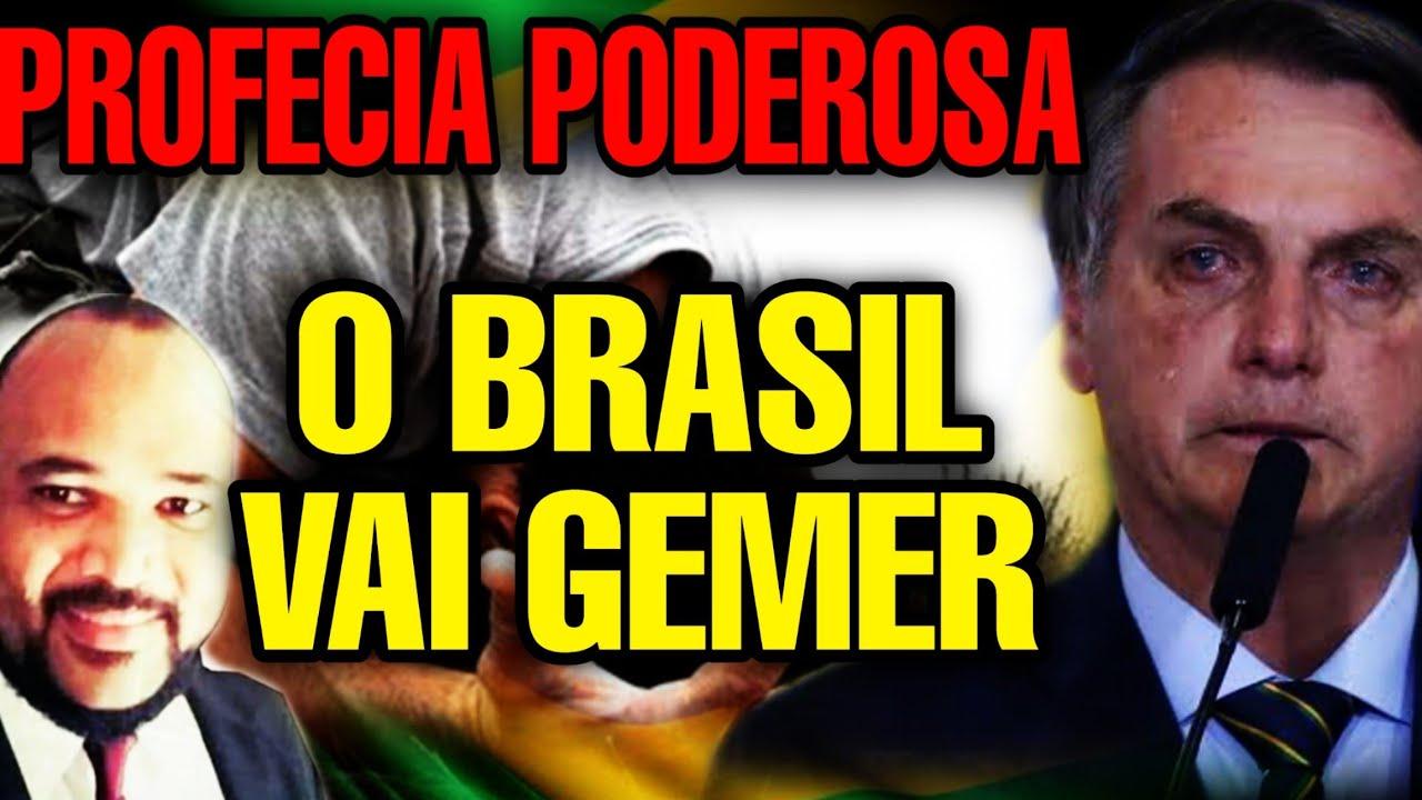 Profecia o Brasil vai gemer / grandes líderes vão cair/ profecia 2020/ Apóstolo hebraim
