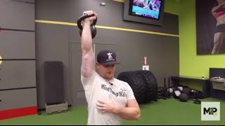 Add Kettlebell Shoulder Presses to Your Routine for More Muscle & Strength