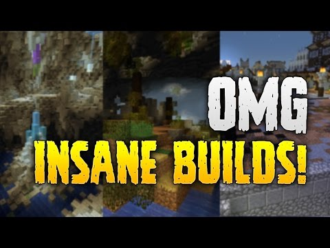 MINECRAFT HERMITQUEST: OMG INSANE BUILDS!...