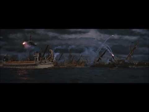 Bataille navale au temps de l'empire romain - extraits du film BEN HUR