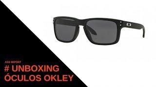 Unboxing óculos Oakley Holb. d2c61fb71c