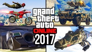 Was 2017 the best year for GTA 5 Online?