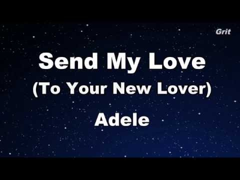 Send My Love - Adele Karaoke【With Guide Melody】