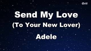 Send My Love Adele Karaoke With Guide Melody