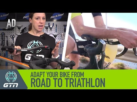 How To Adapt Your Road Bike To A Triathlon Bike | Ride Faster In Your Next Triathlon