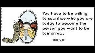 Positive Quotes//SACRIFICE=OPPORTUNITY