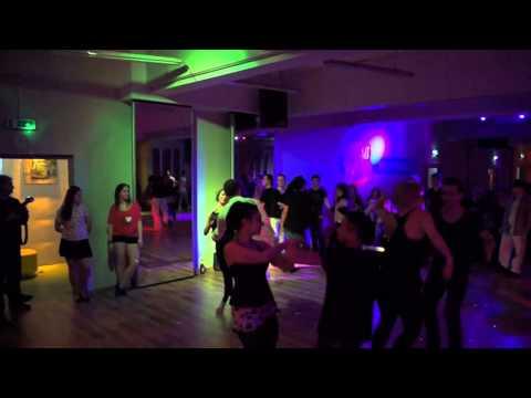 Various Artists on dance floor on Punjabi Zouk track. Zouk Soul at Zouk Libre 2015.