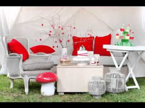 DIY Christmas party decoration ideas - YouTube