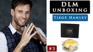 TIEGE HANLEY UNBOXING VIDEO & my opinion so far | DLM unboxing #3