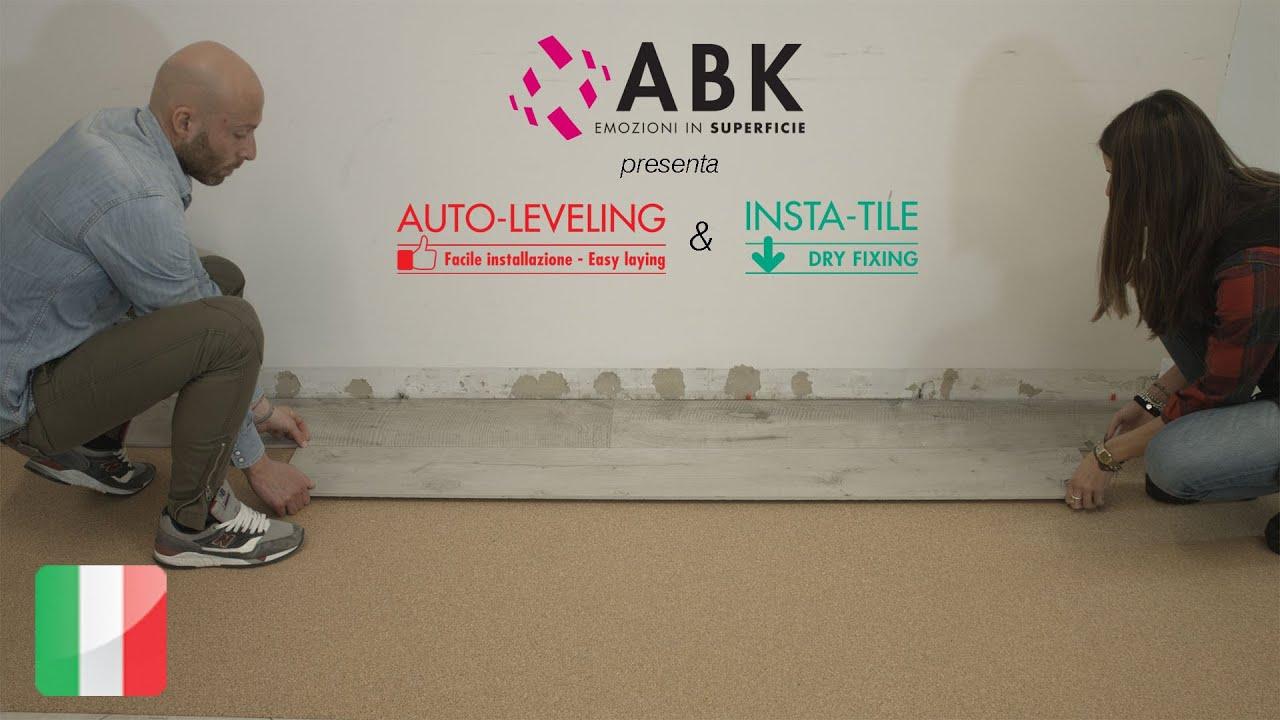 ABK AUTO-LEVELING & INSTA-TILE (ITA) - YouTube
