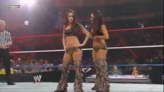 WWE Tribute to the Troops  8 Diva Tag Team Match
