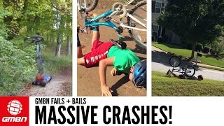 Massive Crashes! | GMBN Fails + Bails