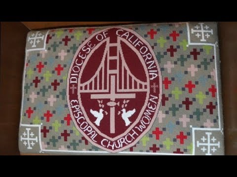 Grace Cathedral Choir Stall Needlework