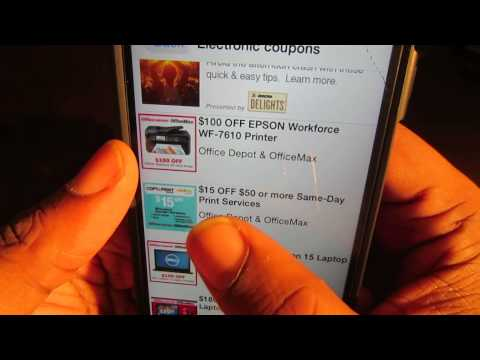 How To Get Coupons, Deals, Discounts App