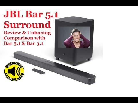 JBL Bar 5.1 Surround 2019 | Unboxing | Review | Sound test| Bar 5.1 Surround vs Bar 5.1 vs Bar 3.1