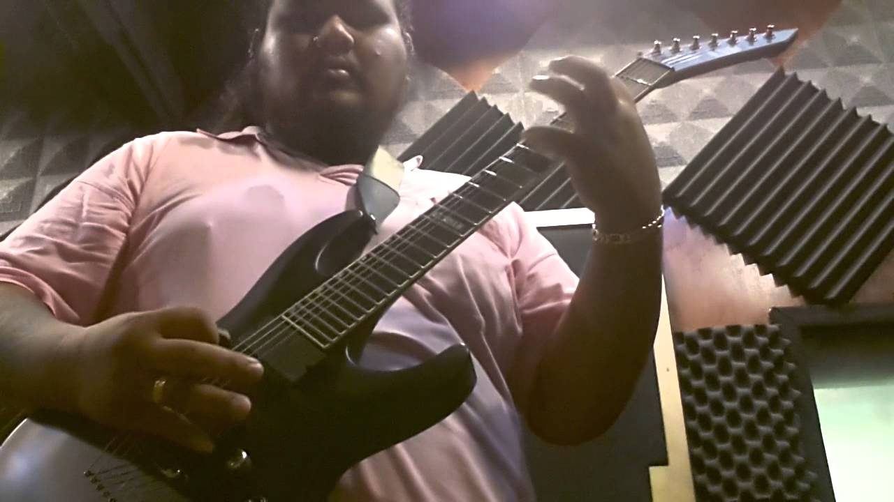 Teen guitar lesson movie night madness 5