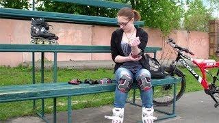 Как научиться кататься на роликах. Урок 1(У нас Вы можете заказать индивидуальную программу тренировок по интернету: http://atletizm.com.ua/personalnyj-trener/uslugi ..., 2014-05-10T12:14:08.000Z)