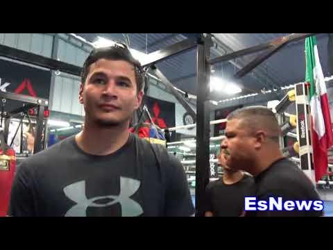 After Boxing Jose Aldo Does Lindolfo Delgado Want To Do A Rd Of MMA With Aldo? EsNews Boxing