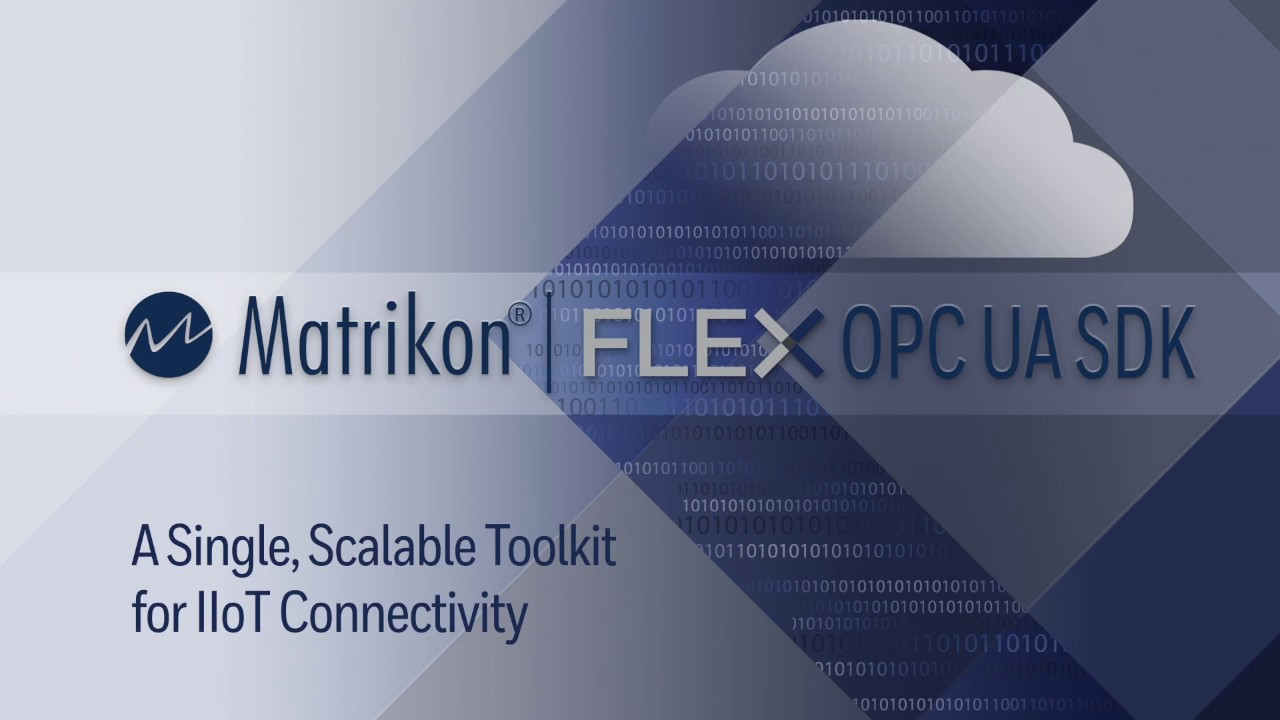 Matrikon FLEX OPC UA SDK - The only toolkit for IoT - Embedded in Everything