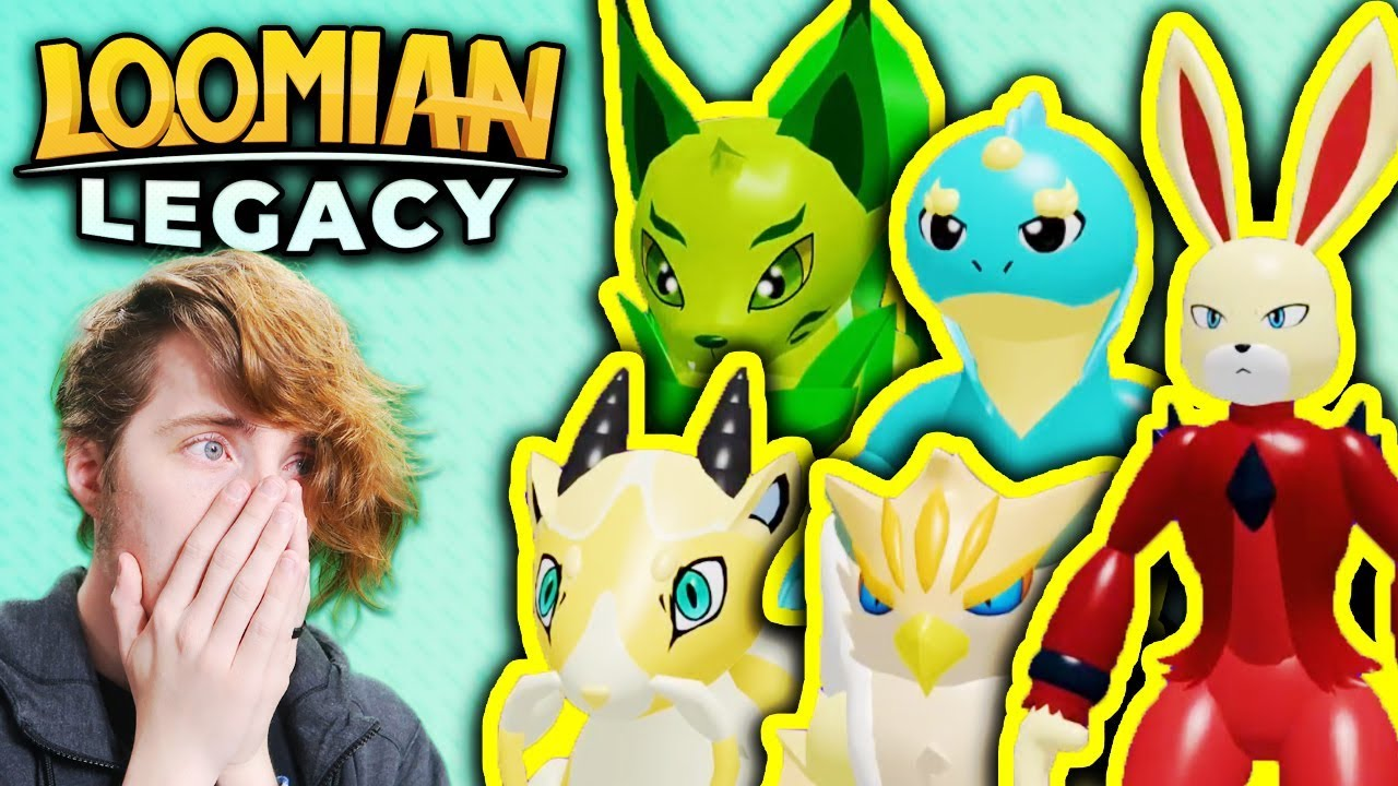 Loomian Legacy Full Game All Evolutions Roblox Loomian
