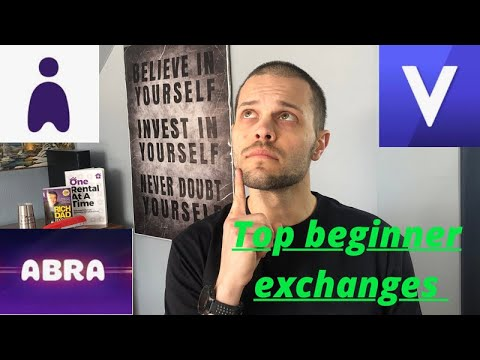 Top 3 crypto exchanges for beginners/voyager/gemini,abra/ friends don't let friends use coinbase!