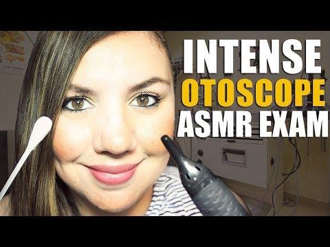 ASMR INTENSE Otoscope Exam👂EAR 👂BUG 🐞EXTRACTION