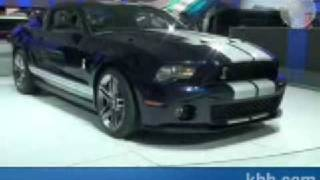 Shelby GT500 2010 packs 540 HP Videos
