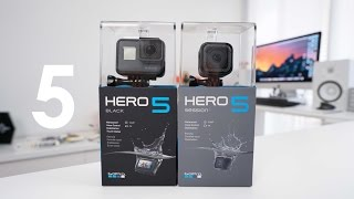 GoPro Hero 5 Black and Hero 5 Session UNBOXING + Setup