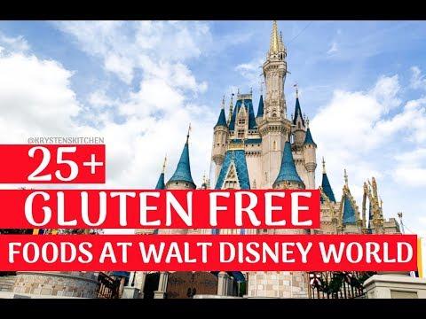 Eating GLUTEN FREE at WALT DISNEY WORLD | Krysten's Kitchen