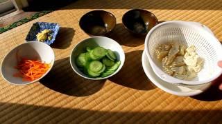 Japanese Tofu And Cucumber Diet Salad