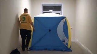 Зимняя палатка СТЭК Куб 2 трехслойная(Палатка СТЭК Куб 2 трехслойная предназначена для зимней рыбалки на льду. Каркас палатки изготовлен из высок..., 2015-12-17T11:47:18.000Z)