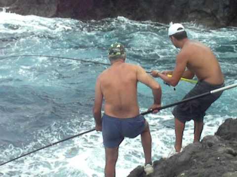 Pesca En El Hierro Zeben Berto Y Cepu Youtube