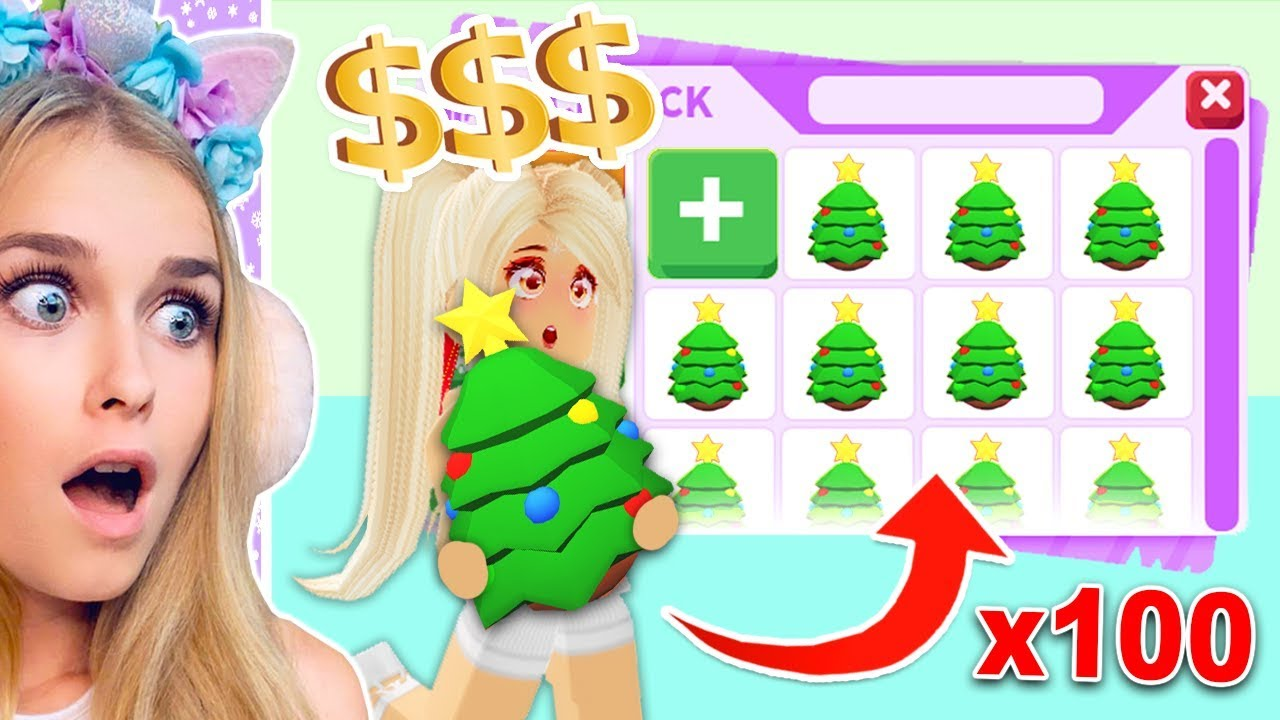 Spending ALL My Robux On Christmas Eggs In Adopt Me! (Roblox) - YouTube